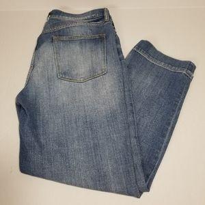 J Crew | ankle blue jeans